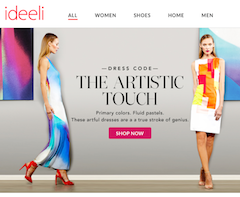 With Ideeli, the clock's ticking on the best deals
