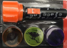 Burns are no treat: Halloween flashlight recalled